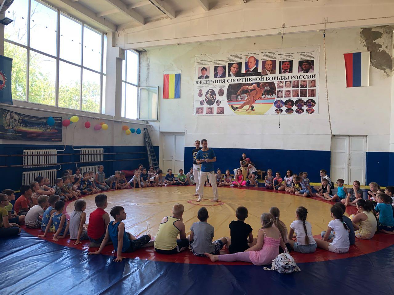мастер-класс по Капоэйре для школьников в Батайске